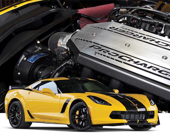 Procharger Chevrolet Corvette C7 Z06 2015-16 (LT4) Supercharger Kit ...