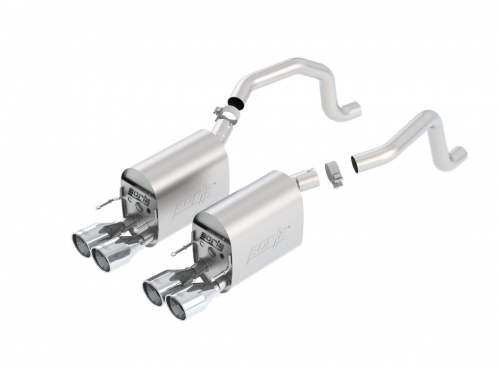 Borla C6 Corvette Axle-Back Exhaust Touring