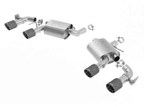 Borla Camaro SS W/ Dual Mode Exh. (NPP) 2016-2018 Axle-Back Exhaust ATAK® Carbon Fiber