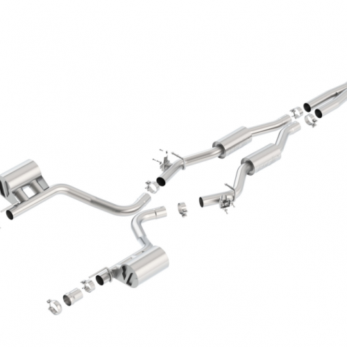 Borla Challenger SRT 392 Scat Pack 2015-2018 Cat-Back™ Exhaust Touring