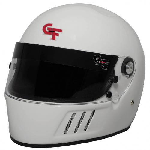 GForce GF3 FULL FACE WHITE HELMET