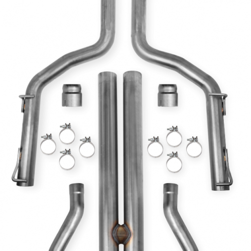Hooker Blackheart Challenger 2009-14 5.7L Cat-Back Exhaust No Mufflers