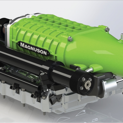 Magnuson Superchargers Hellcat 6.2 HEMI Supercharger System