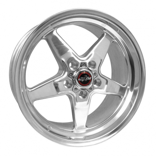 Race Star 92 Drag Star Polished 17x9.5 Dodge