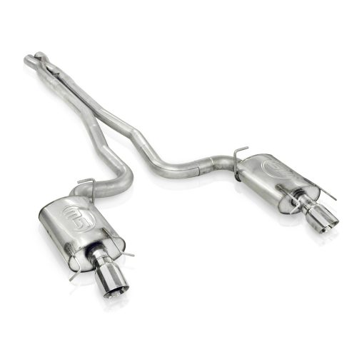 """Cadillac CTS-V 2009-15 Exhaust: 3"""" Dual Turbo Chambered System"""