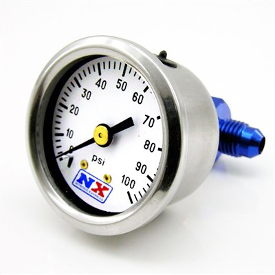 15512 FUEL PRESSURE GAUGE (0-100 PSI W/MANIFOLD)